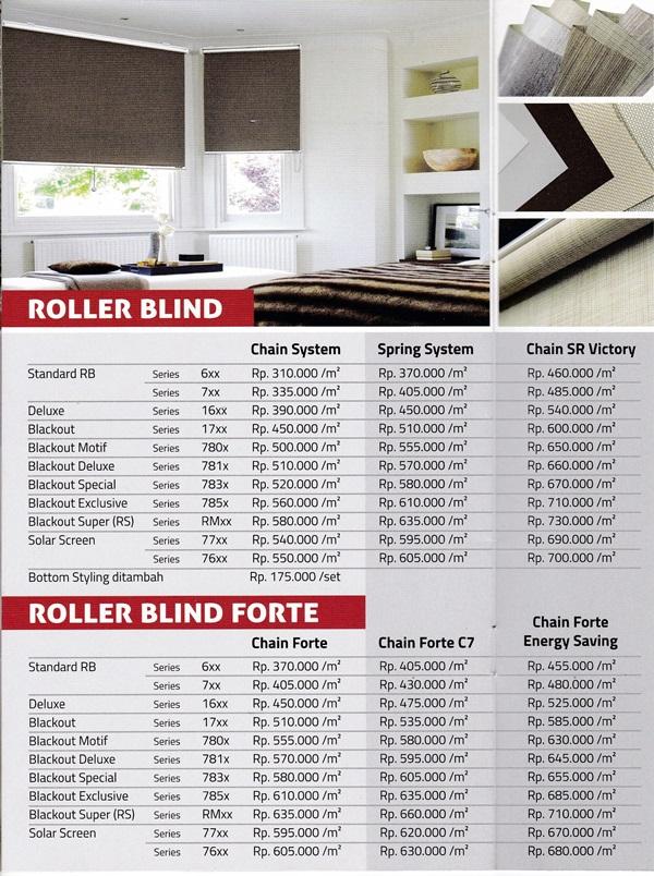 harga roller blind shinichi makassar